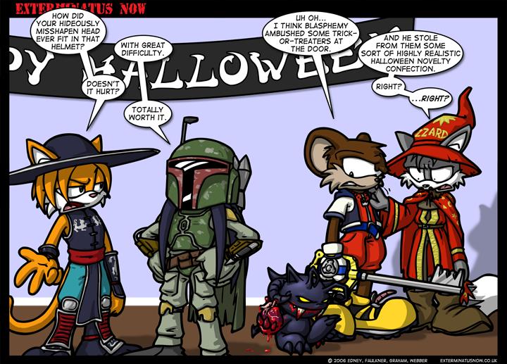 #169 – Holiday: Daemons At Halloween