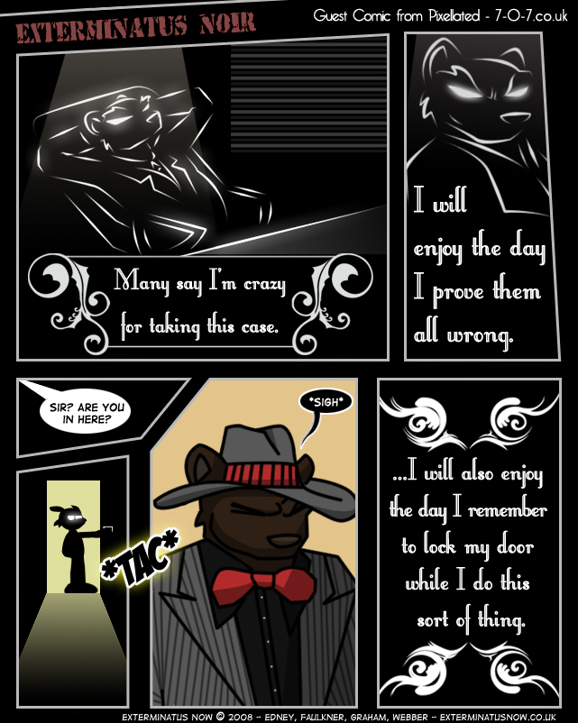 Guest Comic: Pixellated – Exterminatus Noir