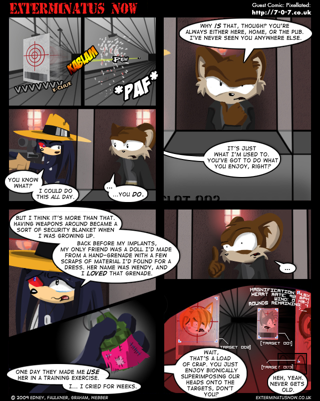 Guest Comic: Pixellated – Explosive Emotion