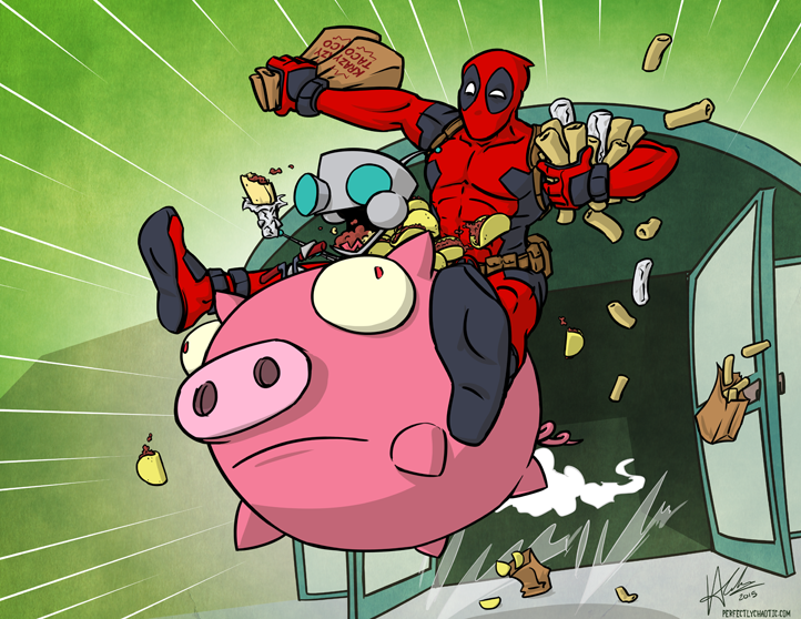 Art: Deadpool & GIR – The Heist