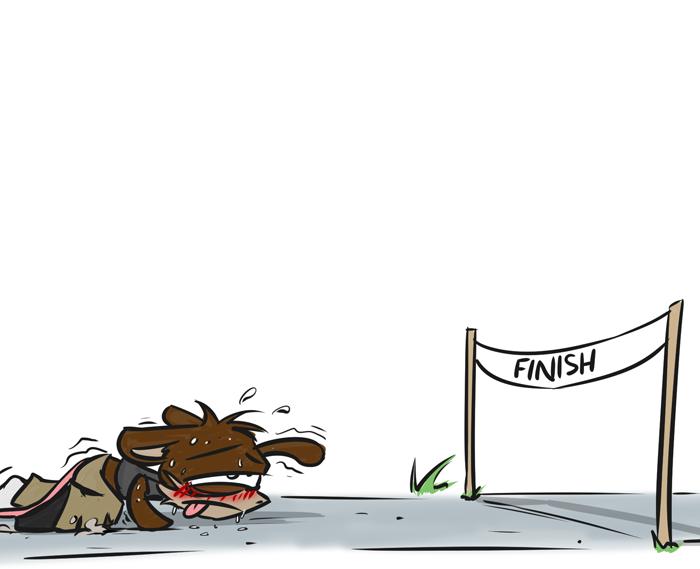Filler – Sprint Finish